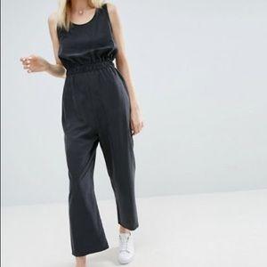 ASOS minimal jumpsuit with elastic waist